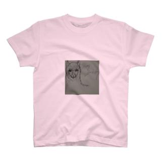 シュールなアルパカ T-shirts