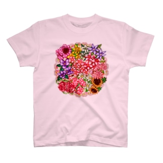 「花籠」Series * flower*basket.*❁ T-shirts