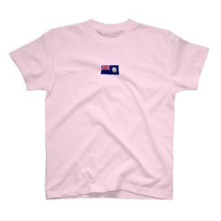 英領 香港 旗 T-shirts