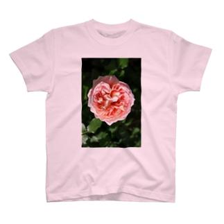 薔薇のハート T-shirts