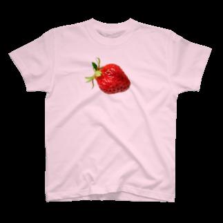 やとりえ-yatorie-の大好き いちごちゃん Tシャツ