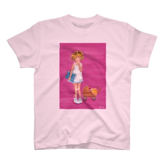=AURORA= これよんでねようね T-shirts