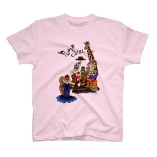 FLAMENCANIMAL(動物集合) T-shirts