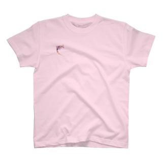 カラフルなヤモリ(mild) T-shirts
