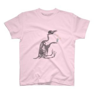 おすわり骨ちゃん T-shirts