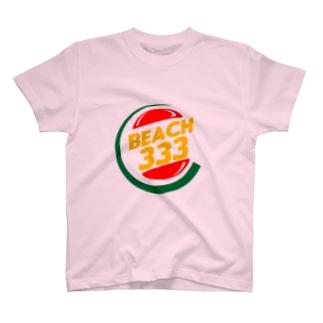 🍒beach333🏖サザンビーチTシャツさくらんぼ©️🍒👌 T-shirts