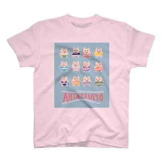 いろんな描いた絵のやつのメイスター水着 T-shirts