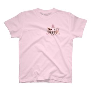 フクモモてんこ盛り T-shirts