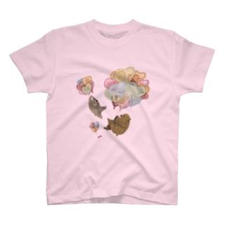 くまと空さんぽ T-shirts