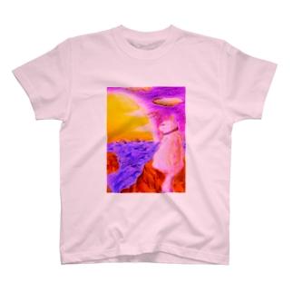 港ねこ・茜 T-shirts