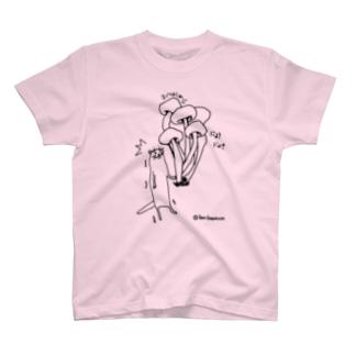 カワウソ~ぶなしめじ編~ T-shirts