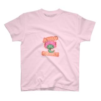 アフロスネーク T-shirts