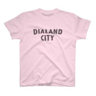 DIALAND CITY GRAY T-shirts