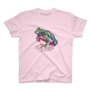 カエルメイト(Frog-mates)より「スイカエル」 T-shirts