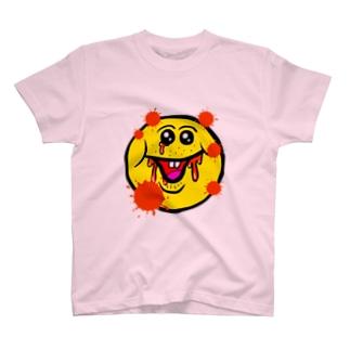 笑い太郎(血みどろ) T-shirts