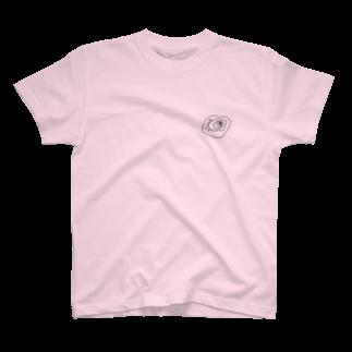 JUNYA_YOSHIDAのブラックホールくん T-shirts