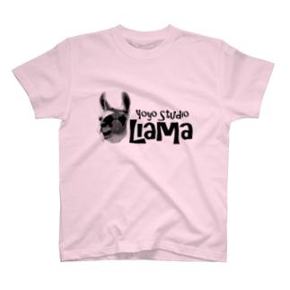 ヨーヨースタジオリャマ T-shirts