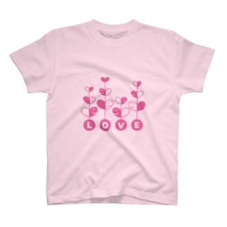 LOVEがいっぱい♡ T-shirts