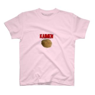 デリーの海綿Tシャツ『KAIMEN』(2) T-shirts