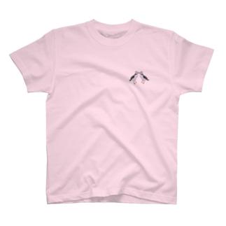 ニシツノメドリ/パフィン 求婚 T-shirts