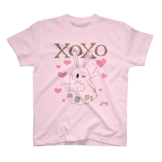 冥土の兎 XOXO編 T-shirts