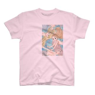 マーメイドさん T-shirts