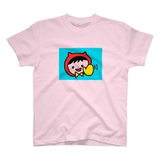 赤い服のねこりん T-shirts