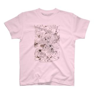 ピエロ占い T-shirts