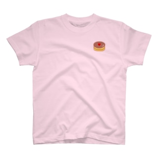 ホットケーキ&Heart T-shirts