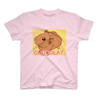 CHOCOLATちゃん T-shirts