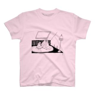 oyasmurのyaneura T-shirts