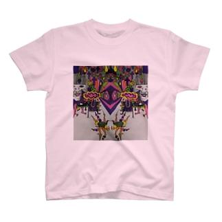 色付き口だけの人 T-shirts