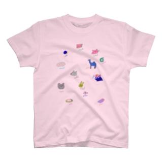 アラビア語単語シリーズ T-shirts