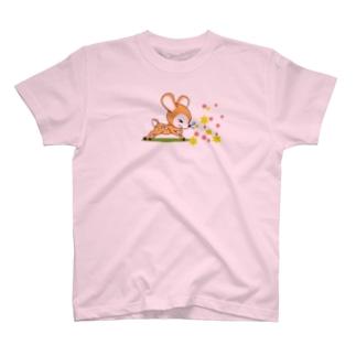 花粉症のバンビ[イラスト大] T-shirts