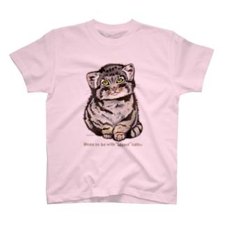 Manul*こまぬるちょこんTシャツ T-shirts