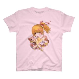 ないしょがーる T-shirts