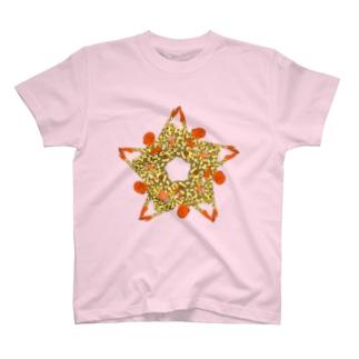 カラフルヒトデ人間(星) T-shirts
