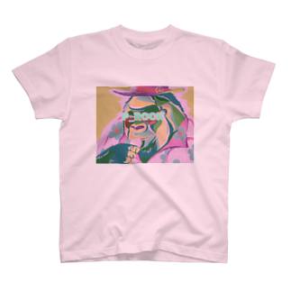 P_ROCKのマカロン食す T-shirts