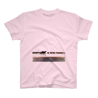 ネコトピアノ - cat and piano T-shirts