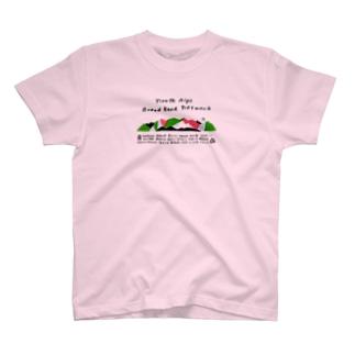 北アルプスブロードバンドネットワークの2020版公式グッズ(加盟山小屋全部入り) T-shirts