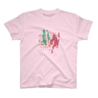 絵の具 とみせかけた  T-shirts