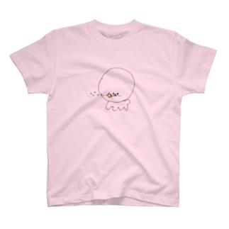 ビションフリーゼと魔法のステッキ T-shirts