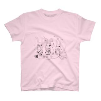 ロケットニンジン T-shirts