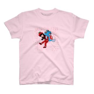 トマトのねえとガタちゃん T-shirts