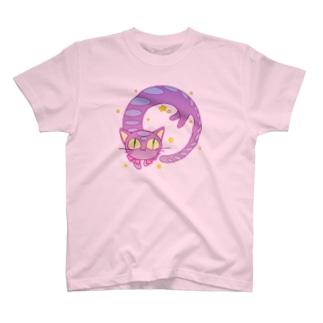 ながいねこ(円相) T-shirts