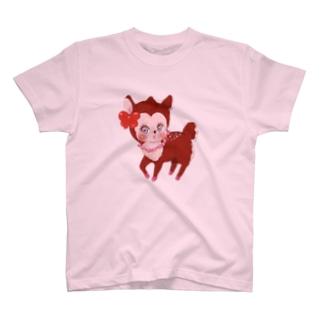 子鹿のBelinda T-shirts