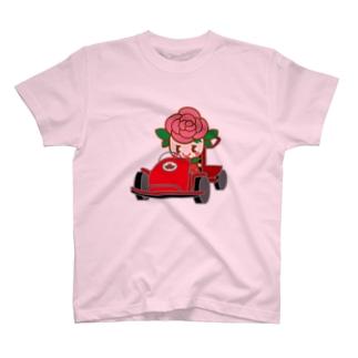 ゴーカートだよ!ばららちゃん T-shirts