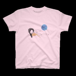 佐藤撫子のおやすみ T-shirts