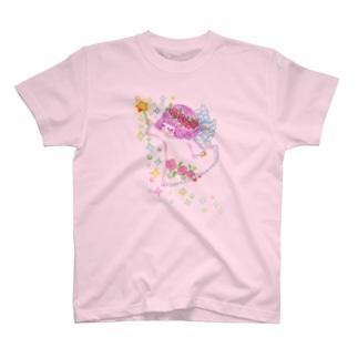 あんじぇらーぬ(背面は天使の羽) T-shirts