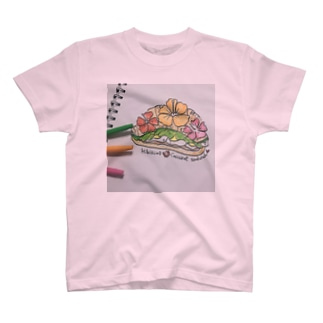 ハイビスカス🌺サンド T-shirts